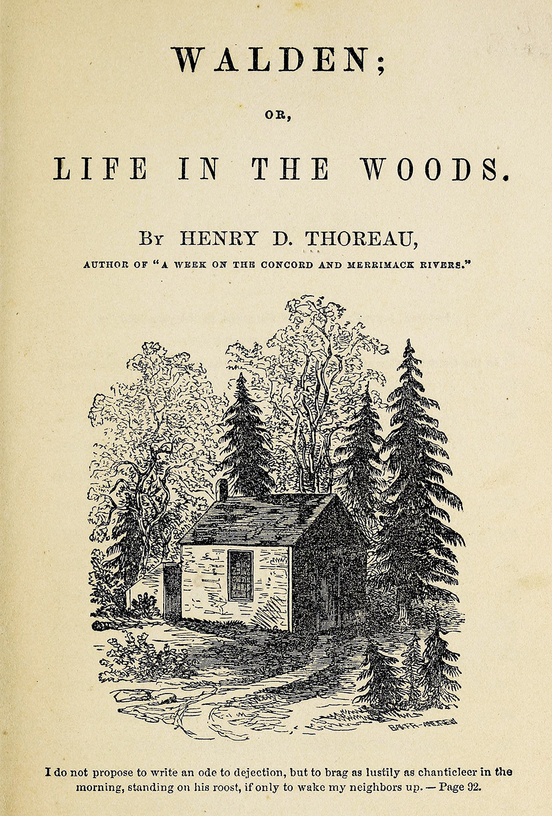 enry David Thoreau book