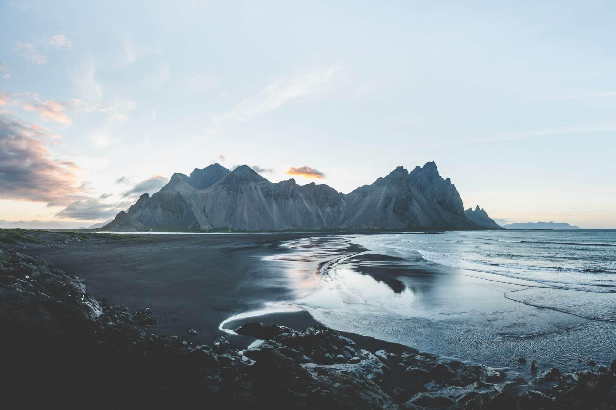 Adventure sustainably icelandic landscape