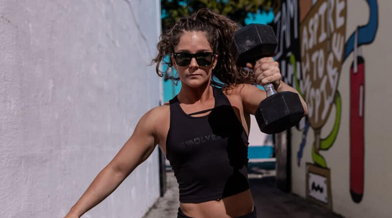 Single-Arm-Dumbbell-Snatches