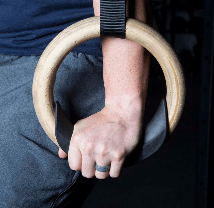 Rogue Rings with athlete