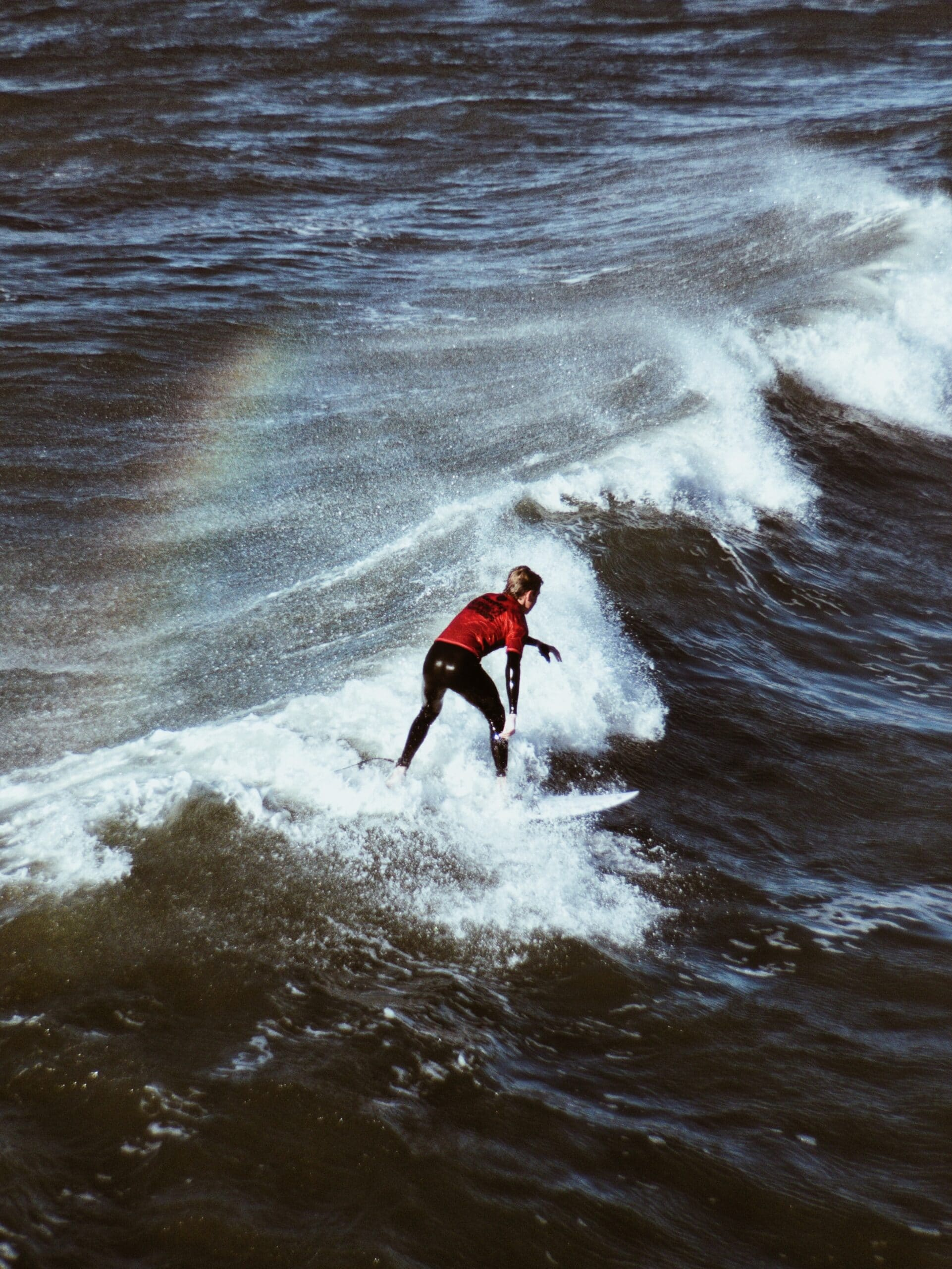Surfing on wave