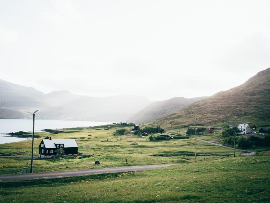 Houses in the Faroe Islands