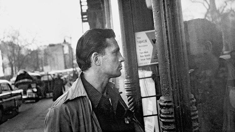 Jack Kerouac by the window
