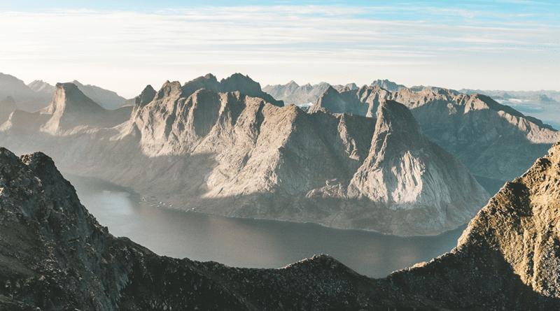 Into the wild quotes mountain range