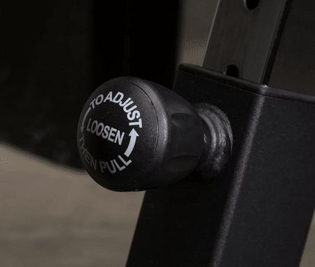 adjustable knob on bike