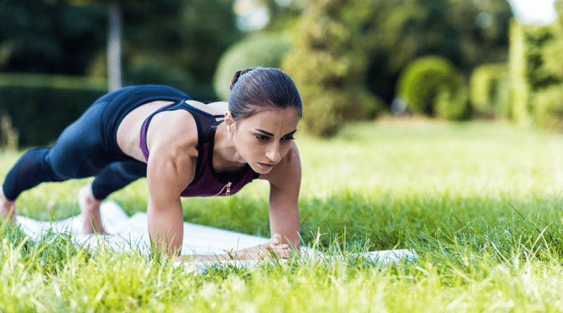 Plank exercise workouts