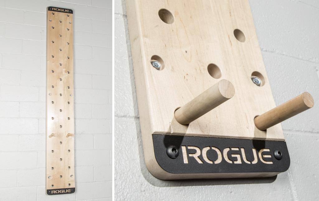 Rogue Echo Peg Board on Wall