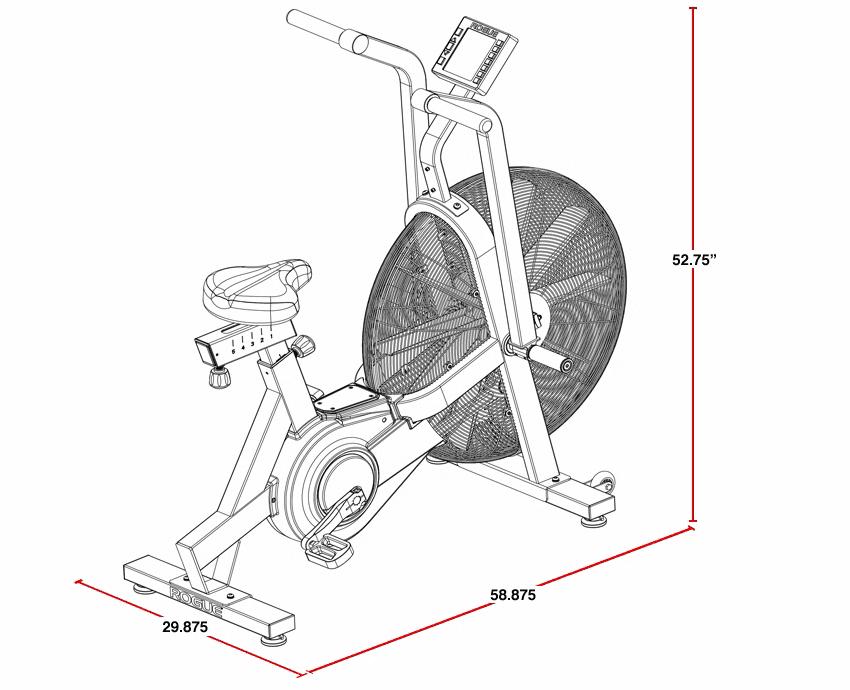 Echo Bike Drawing